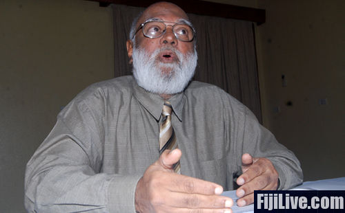 Former Fiji Labour Party stalwart Krishna Datt will be available for the 2014 elections. Photo: Avikash Chand.