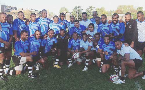 Solo Mara to present Flying Fijians jerseys