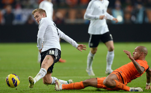Holland held goalless by Germany